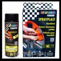 Sprayplast - CZARNY MAT - ZESTAW 2x400ml + GRATIS